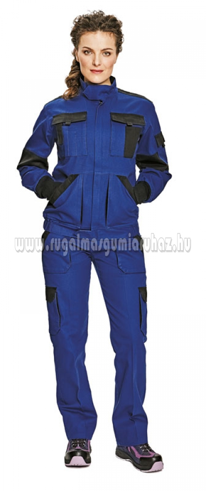 8f329157cdea MAX LADY női kabát kék/fekete